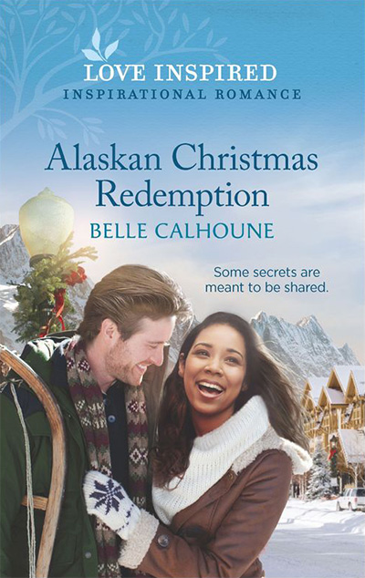 Alaskan Christmas Redemption book cover, by author Belle Calhoune