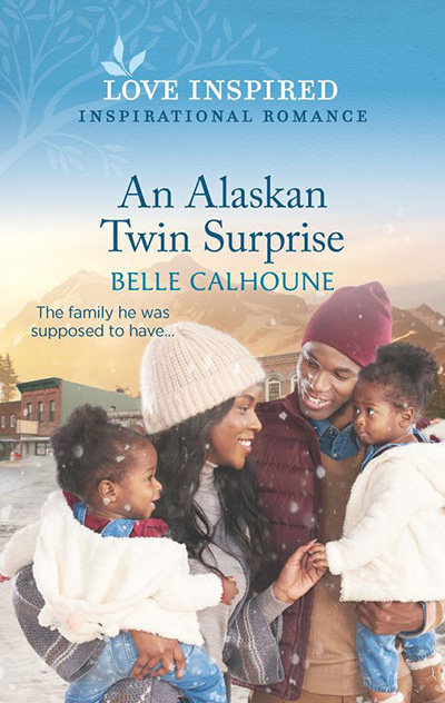An Alaskan Twin Surprise book cover, by author Belle Calhoune